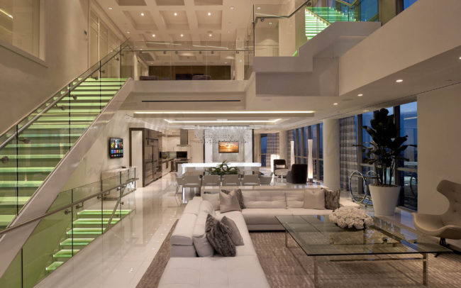 Contemporary Interiors by Interiors by Steven G.
