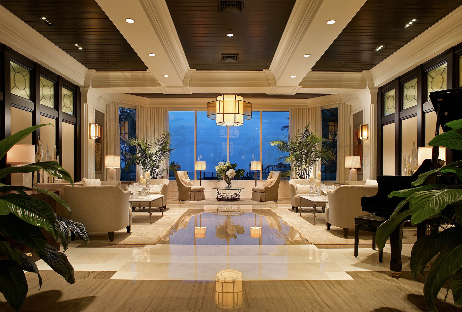 Ritz Carlton Residences Designs Interiors by Steven G