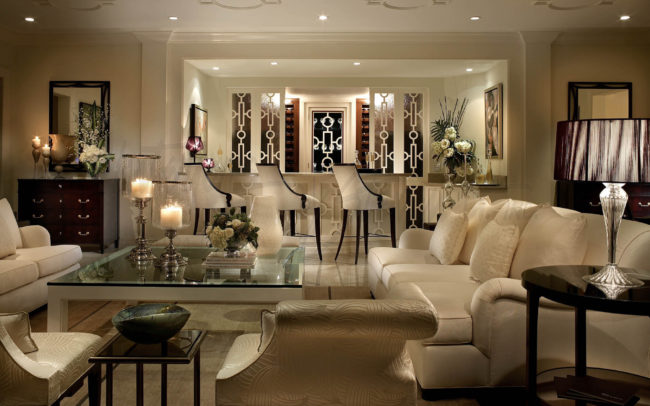 traditional home design. Traditional  RITZ CARLTON RESIDENCES Home Design Portfolio Interiors by Steven G
