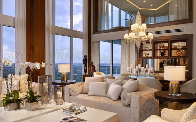 Las olas river house transitional interiors by steven g - What is transitional style ...