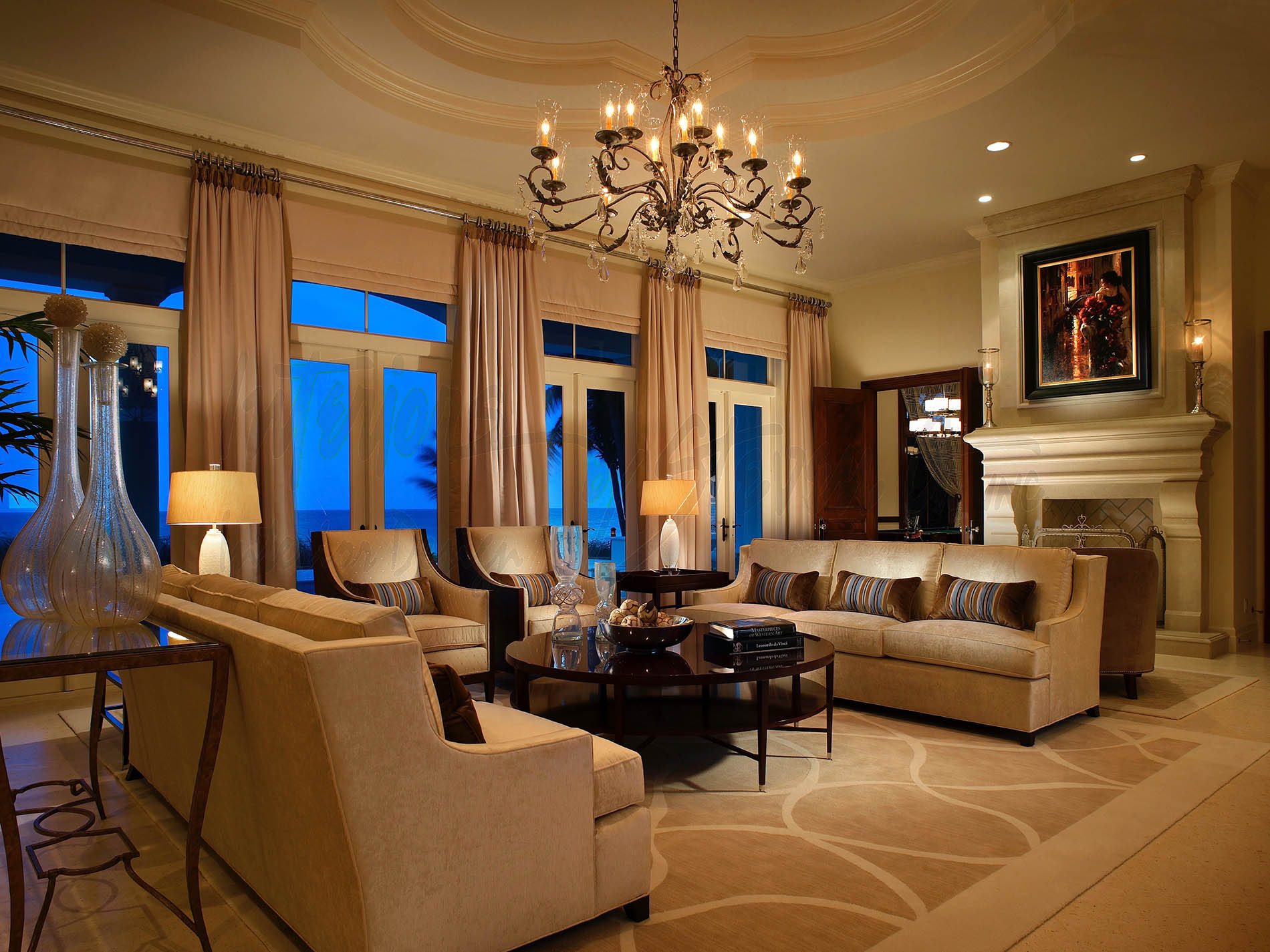 Highland Beach Traditional Interiors By Steven G